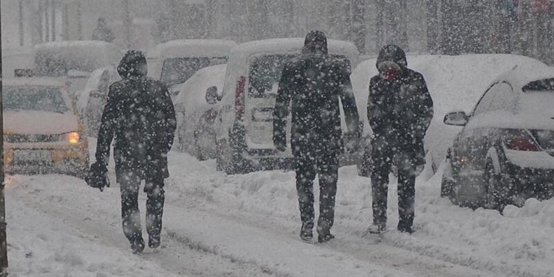 Yeni kar yağışı geliyor, kar kalınlığı 20 cm olacak