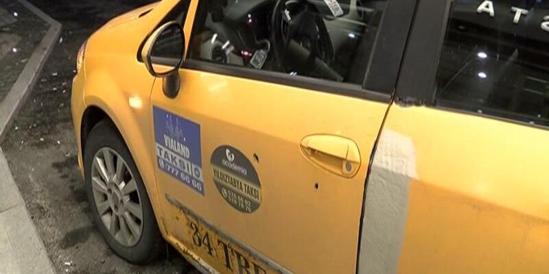 Gaziosmanpaşa'da taksiciye ateş açtılar