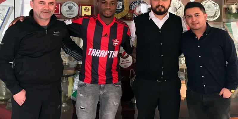 Yoiver Gonzalez Gaziantepspor'da