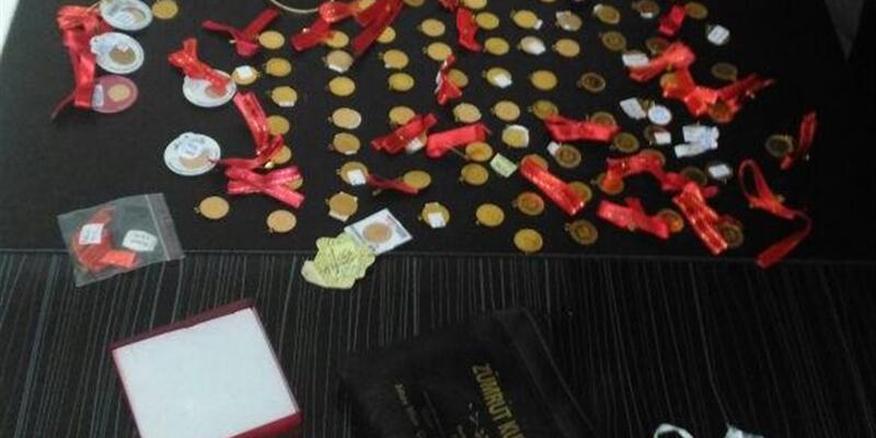Çalıştığı eski işyerinden 100 bin liralık altın çaldı