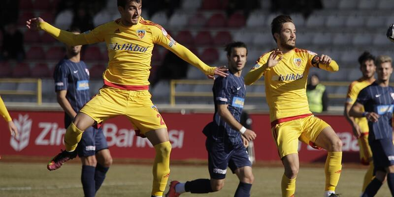 ZTK: Boluspor - Kayserispor: 0-0