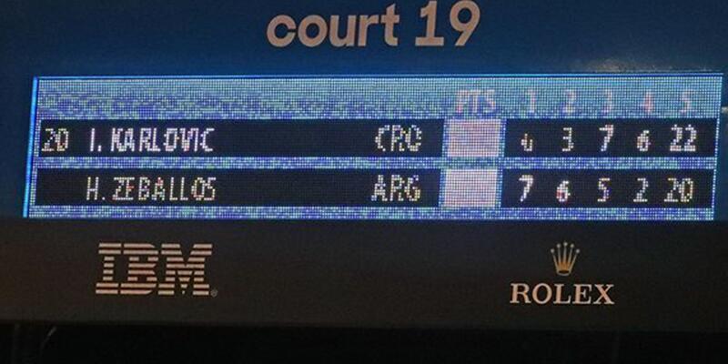 Avustralya Açık'ta çılgın maç: 5 saat 15 dakika sürdü