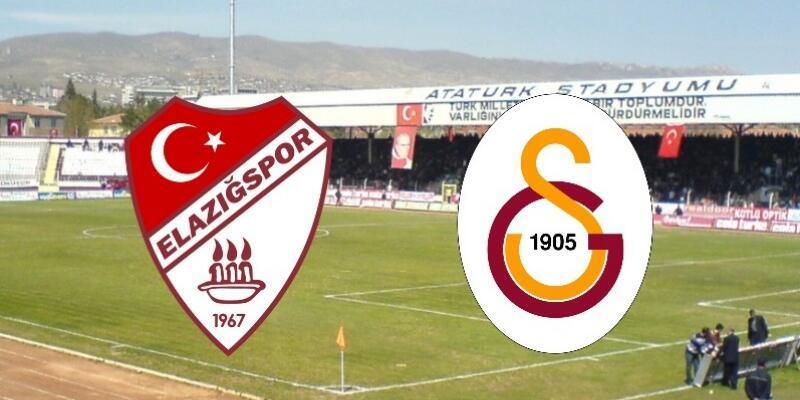 Elazığspor - Galatasaray maçı hangi kanalda, saat kaçta?