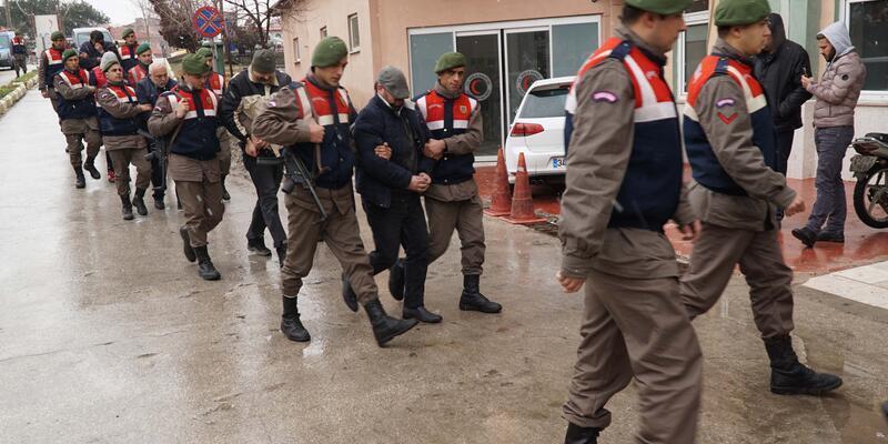 Edirne'de 91  yasa dışı göçmen yakalandı