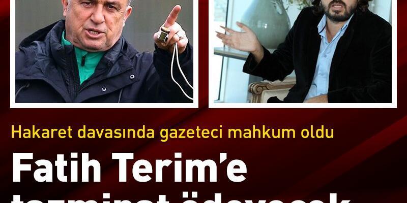 Televizyon yorumu için Fatih Terim'e tazminat ödeyecek
