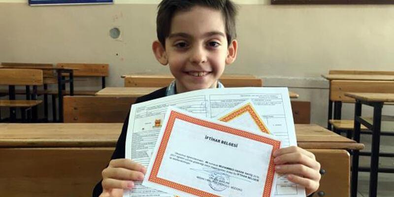 8 yaşında ilkokulu bitirdi, Bakan'dan ricada bulundu