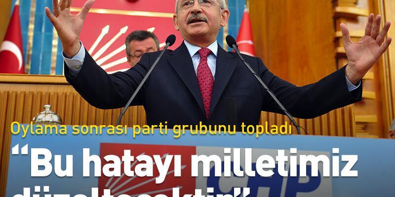Kılıçdaroğlu: Bu parlamentonun kendi tarihine ihanet tarihidir