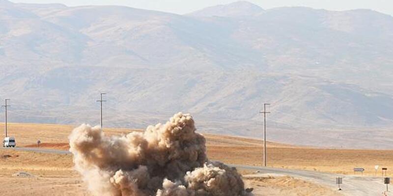 Şırnak'ta PKK bombası imha edildi