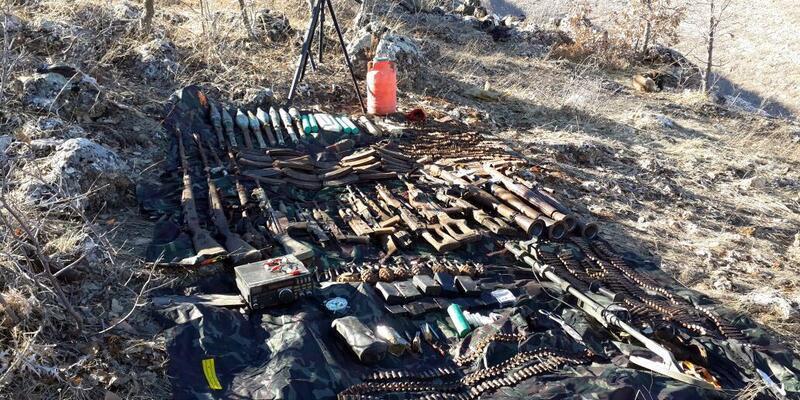 Hasankeyf'te PKK sığınakları bulundu