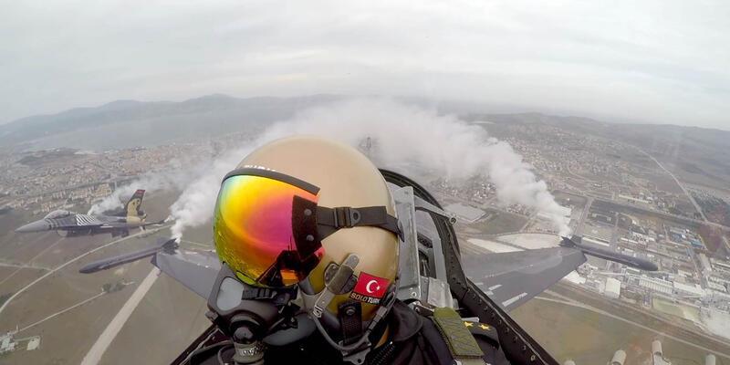 SOLOTÜRK'ten yavaş uçuş rekoru