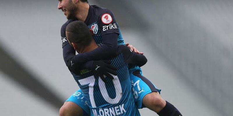 Bursaspor galibiyetle veda etti