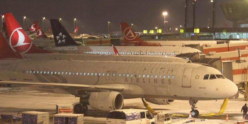 Atatürk Havalimanı'nda uçuş kısıtlaması
