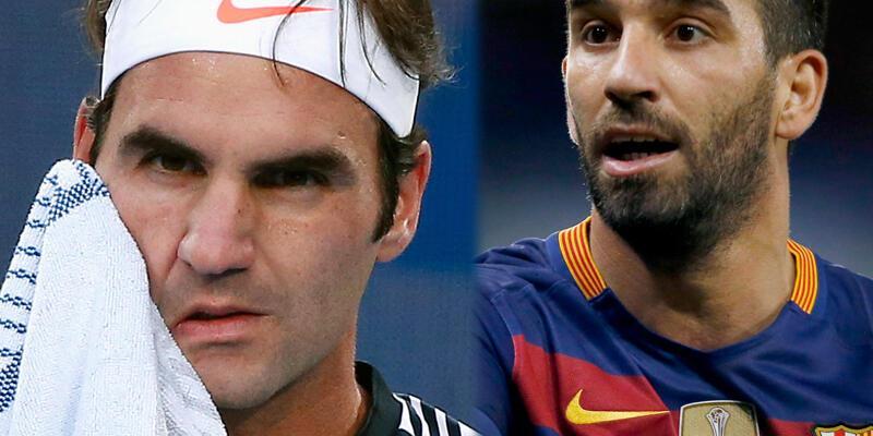 Arda Turan, Roger Federer'i Twitter'dan kutladı
