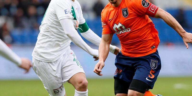 Süper Lig: Medipol Başakşehir 1-0 Bursaspor