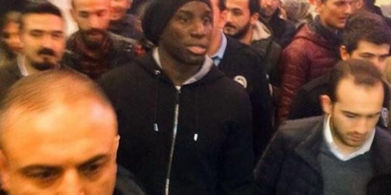 Son dakika.. Demba Ba Beşiktaş için İstanbul'da