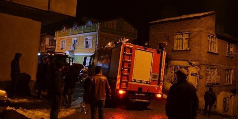 Fatsa'da 4 katlı apartmanda yangın: 4 yaralı