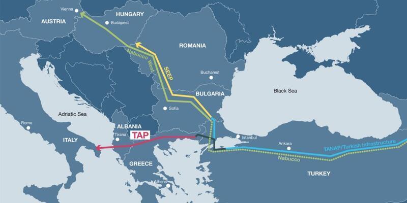 TAP'ın maliyeti 4,5 milyar euroyu bulacak