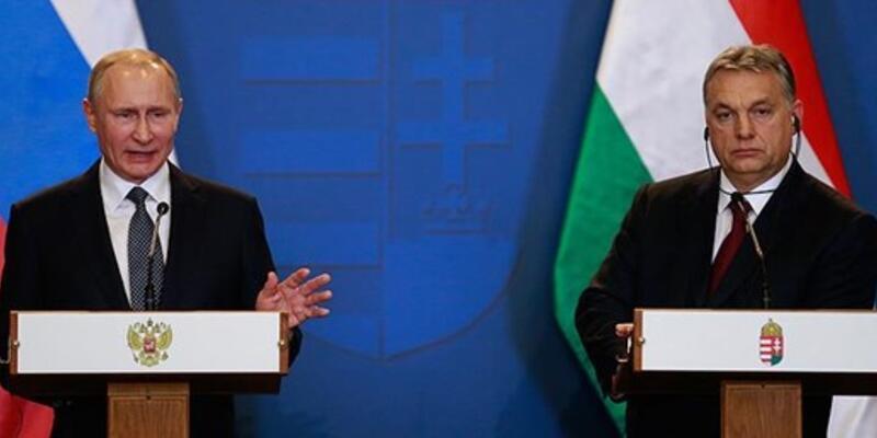 Putin: Macaristan, doğalgazı Türk Akımı'ndan alabilir