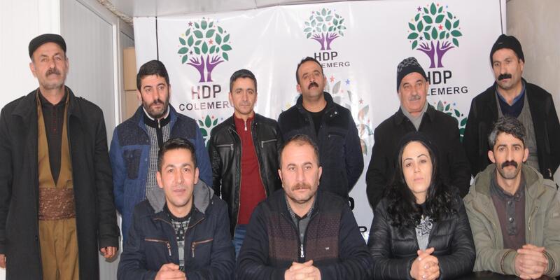 HDP ve DBP 'hayır' kampanyası
