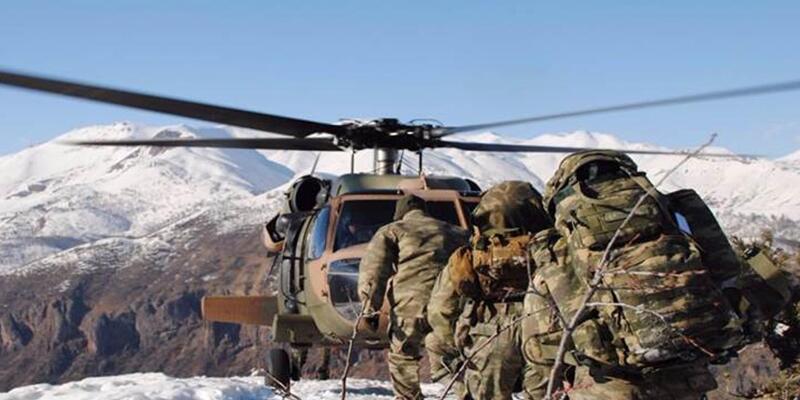 Tunceli'de terör operasyonu: Çok sayıda malzeme ele geçirildi