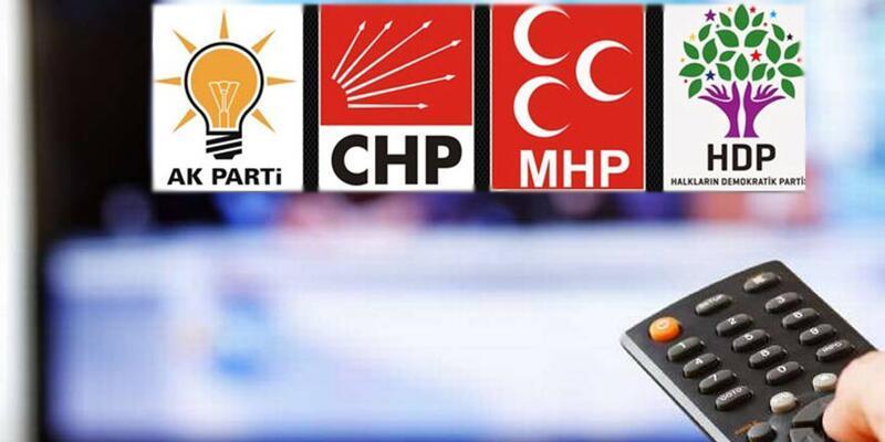 Partilerin propaganda süresi belli oldu