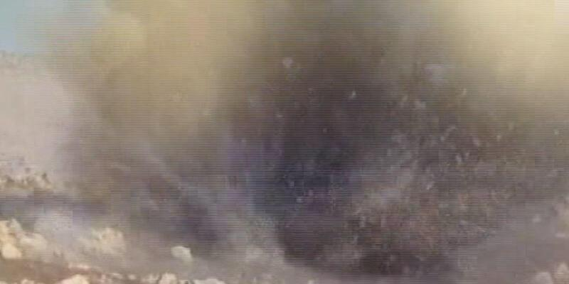 Voleybol topunda bomba bulundu