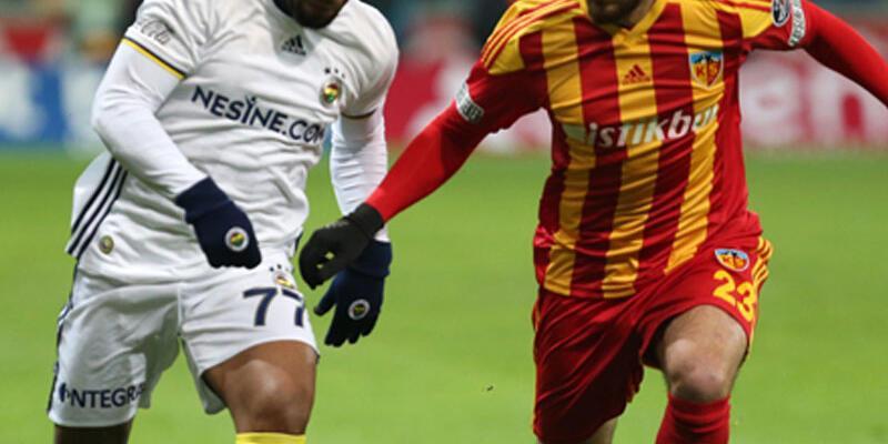 Kayserispor'un Fenerbahçe sevinci