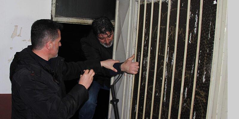 Polis kan izini takip edip hırsızın eşkalini belirledi