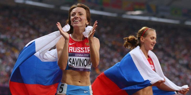 Mariya Savinova'nın altın madalyası elinden alındı