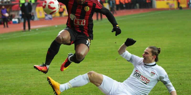 Eskişehirspor 5 golle dağıldı
