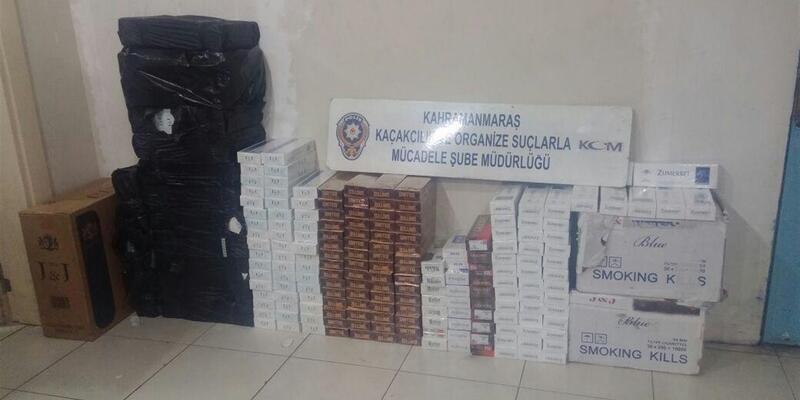 4 bin 600 paket kaçak sigaraya gözaltı