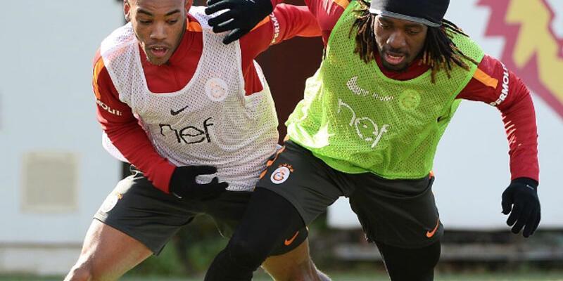 Galatasaray şut çalıştı