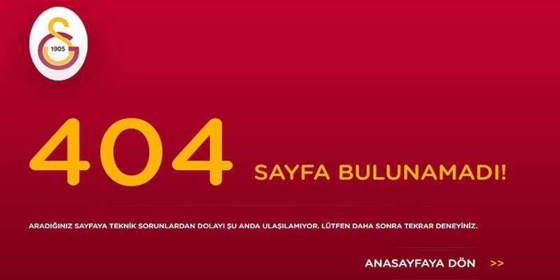 Galatasaray'da yeni teknik direktör 'yükleniyor'