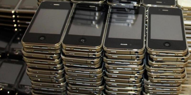 750 adet kaçak telefon ele geçirildi