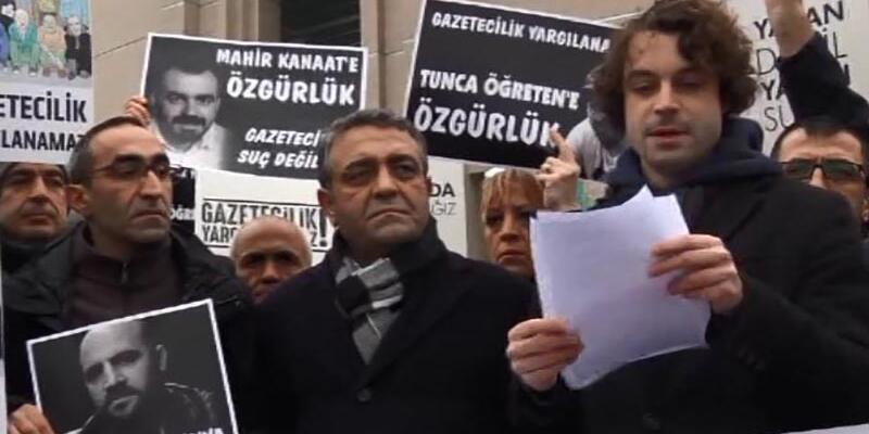 Odatv davası öncesinde gazeteciler Ahmet Şık'ın tutuklanmasındaki çelişkiye işaret etti