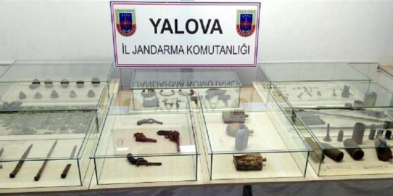 Çanakkale Savaşı'nda kullanılan silah ve malzemeler çıktı