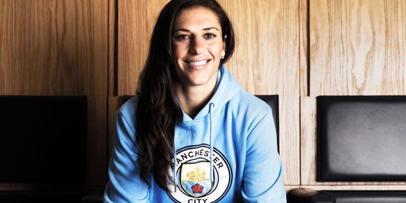 Carli Lloyd Manchester City'de