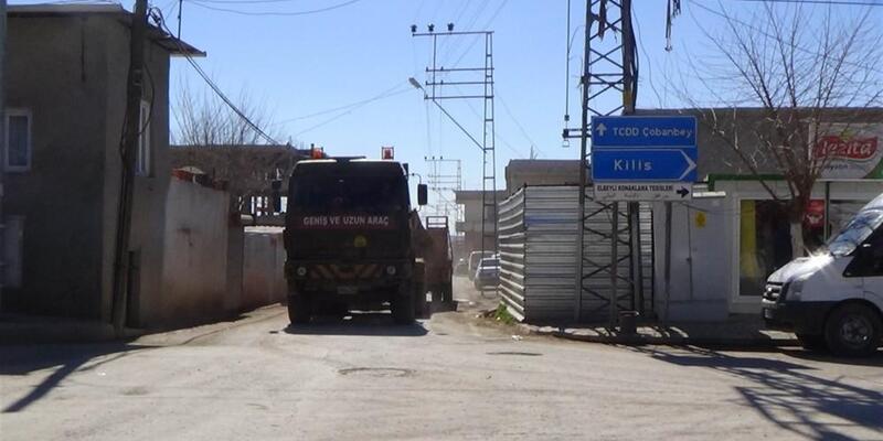 Sınır hattında askeri hareketlilik