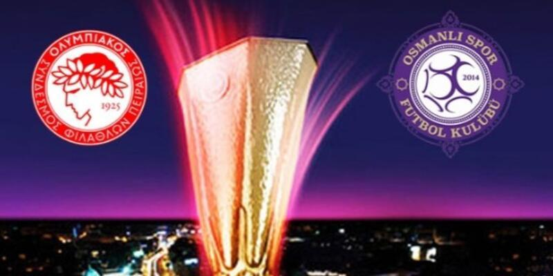 Olympiakos Osmanlıspor UEFA maçı hangi kanalda canlı izlenecek? Emre Tilev: İnancımız tam