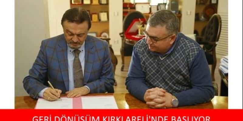 2017 geri dönüşüm projesi   Kırklareli Belediyesi'nden büyük atılım