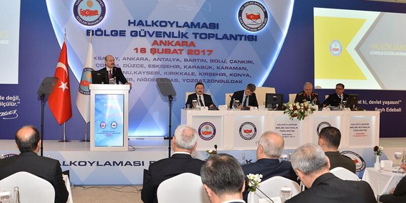 İstanbul'da referandum için güvenlik toplantısı yapıldı
