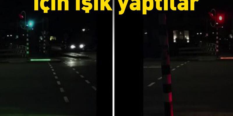 Akıllı telefon tutkunları için trafik ışığı