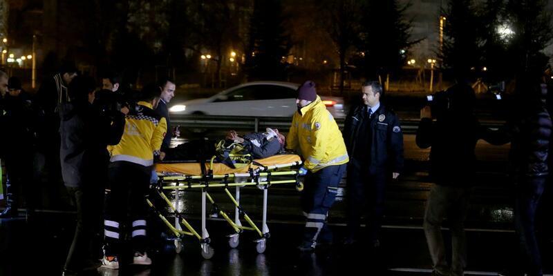 Polisten kaçarken ağır yaralandı