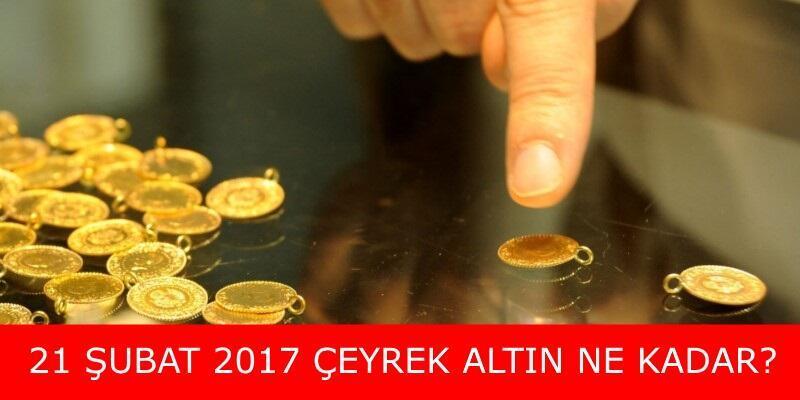 Çeyrek altın fiyatları ne kadar? (21 Şubat) | Düşüş devam ediyor