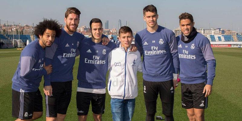 Johan Ramirez Real Madrid'in misafiri oldu