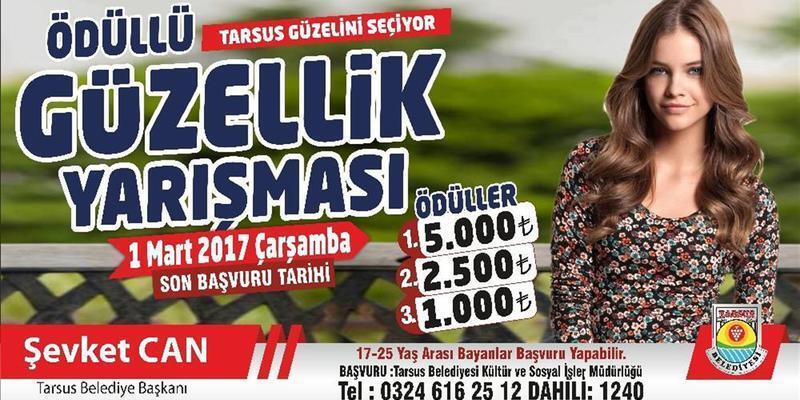 Tarsus Belediyesi'nin 8 Mart güzellik yarışması tepkiler üzerine iptal edildi