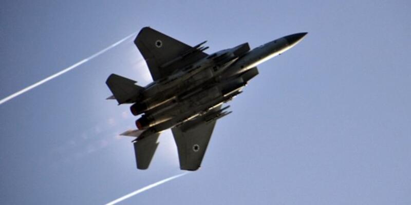 İsrail uçakları Suriye ordusunu vurdu