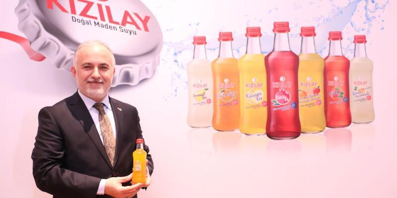 Premium şişelere giren Kızılay Doğal Maden Suyu, Çin pazarına da açıldı