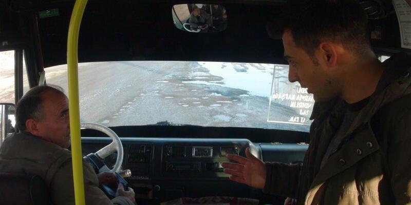 Karsta trafikte sivil polis dönemi