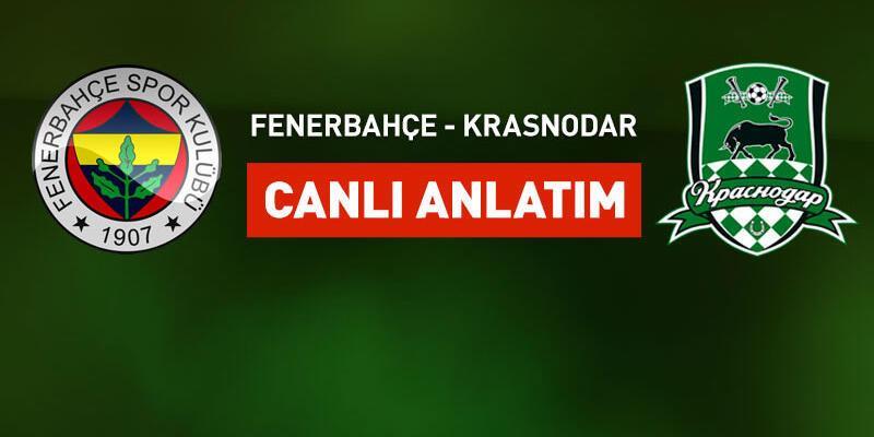 Fenerbahçe - Krasnodar maçı canlı yayın